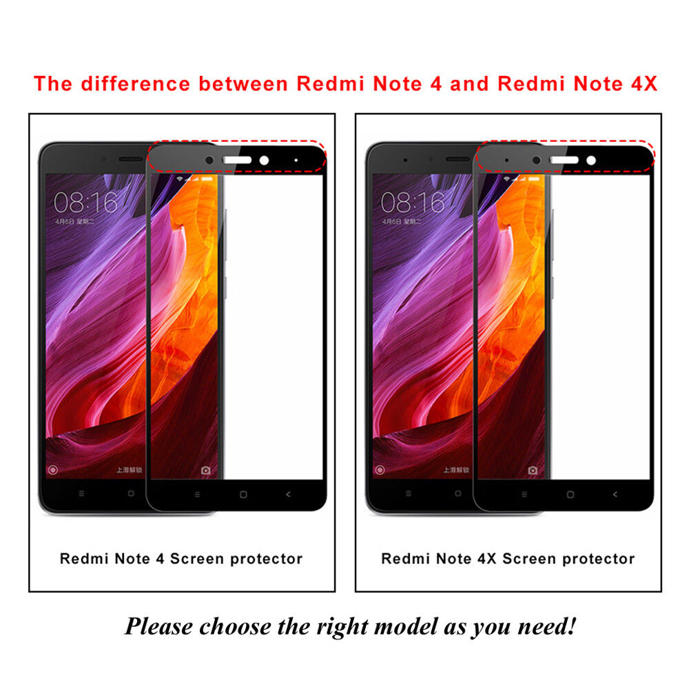 For Xiaomi Redmi Note 4 4X 3D A1 Full Cover 9H Tempered Glass Screen Protector