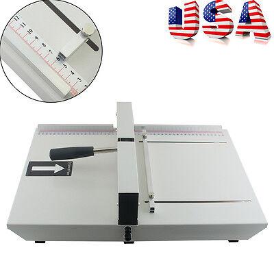 Manual Paper Creaser Creasing Machine 350mm Scoring Scorer Lock Office A4 Paper