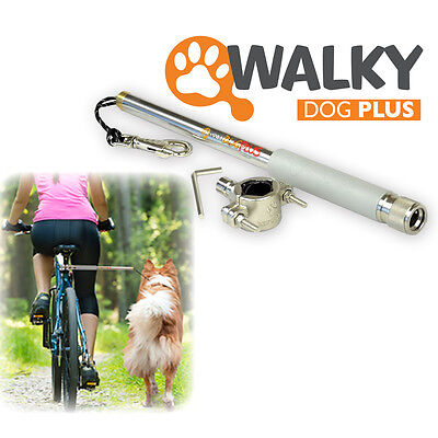 WalkyDog Walky Dog plus Dog Bike Leash Hands free Leash Exerciser  open box 2017