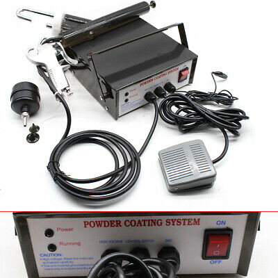 Portable Powder Coating System Paint Spary Gun Pc03-5 Electrostatic 110v 60hz