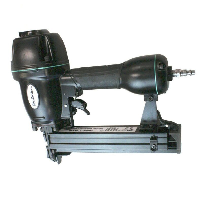 Air Corrugated Stapler for Wood Frames Face Picture Faceframes Corrogated
