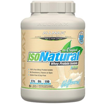 isonatural whey protein 5 lbs