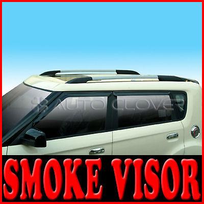 Smoke Window Visor Vent 4p for 2011 2012 Kia Soul