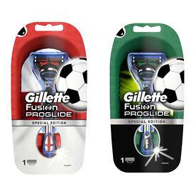 Gillette Fusion ProGlide Football Razors from