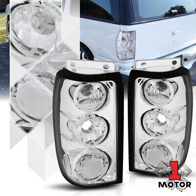 Chrome Housing Clear Lens*EURO ALTEZZA*Tail Light Brake Lamp for 95-97 Explorer