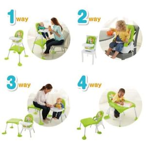Fisher Price 4-in-1 Baby Booster Seat Table Feeding High Chair