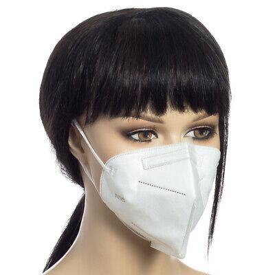 Atemschutzmaske FFP2 Mundschutz Maske Schutzmaske N95 Filterung 5 Stück