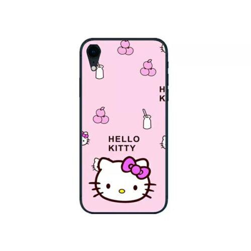 Cartoon Hello Kitty TPU Glass Phone Case For IPhone 6 Plus / 6s Plus - $3.99
