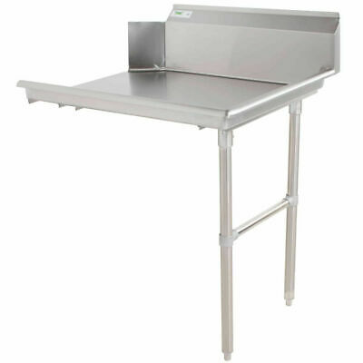 Commercial Stainless Steel Right Side Clean 24 Dish Washer Table 2 Dishwashing