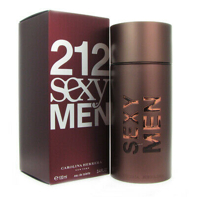 212 Sexy Men by Carolina Herrera 3.4 oz EDT Spray