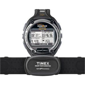 Timex Ironman Global Trainer GPS Watch/ Digital 2.4 Heart Rate Monitor T5K444