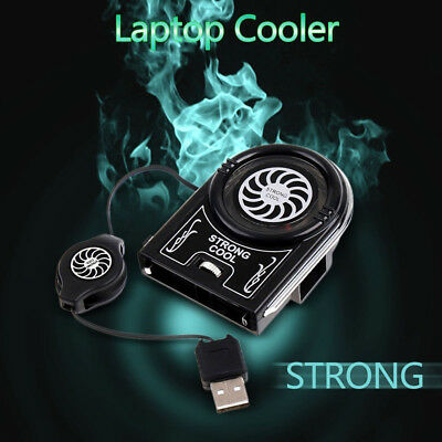 Vacuum USB Radiator Cooler Air Extracting Cooling Fan Laptop Cooler Fan, used for sale  Shipping to Canada