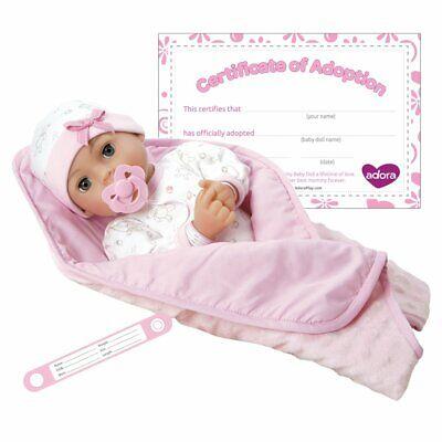 "Adora Adoption Baby ""Hope"" 16 Inch Vinyl Girl Newborn Weight"