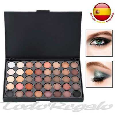 Sombra de Ojos Kit Completo de Maquillaje Paleta Set 40 Colores Make...