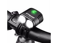 Bestface Bike Headlight Rechargeable Waterproof LED Bicycle Light Set 5 Light Modes Super Bright