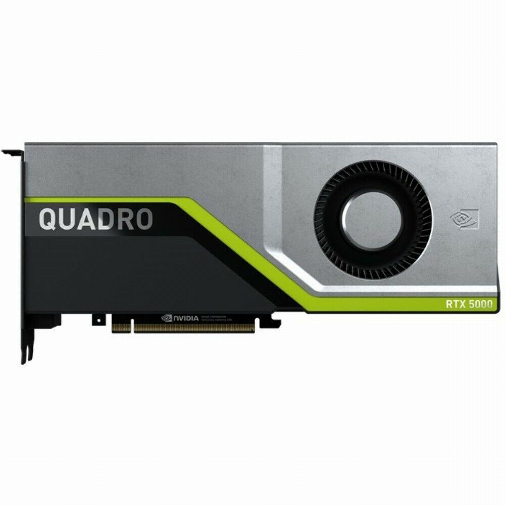 PNY NVIDIA Quadro RTX 5000 16 GB - VCQRTX5000-PB - Grafikkarte - GDDR6