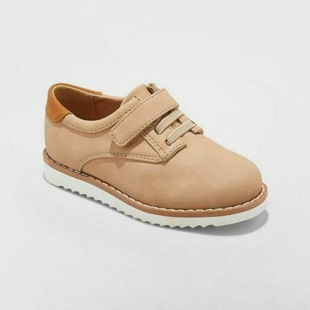 Cat & Jack Toddler Boys' Tobias Dress Oxford Shoes -Tan- CHE