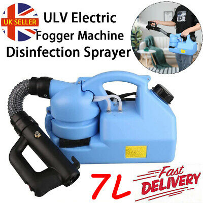 ULV Fogger Fogging Machine 7L Disinfection Control Sprayer Portable 220V UK Plug