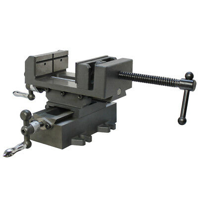 3 Inch 2-way Sliding Drill Press Vise X-y Compound Cross Over Slide Mill Drill