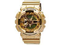 CASIO G-SHOCK GA-110GB-1A GOLD