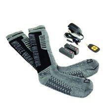 Mobile Warming Standard Heated Socks Gun/Black Men Sizes 10-14