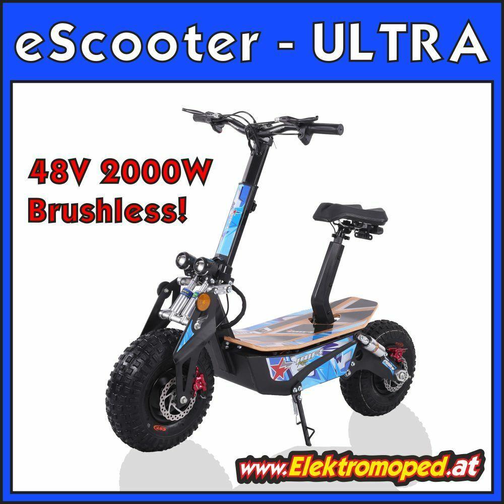 Elektro-Scooter Freakyscooter ULTRA SCOOTER 48V 2000W m… |