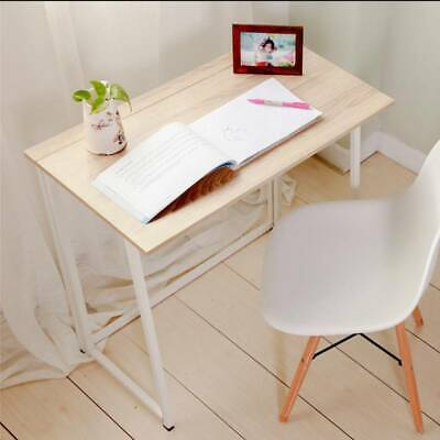 Easy Foldable Computer Desk Folding Study Laptop PC Table Home Furniture Wooden