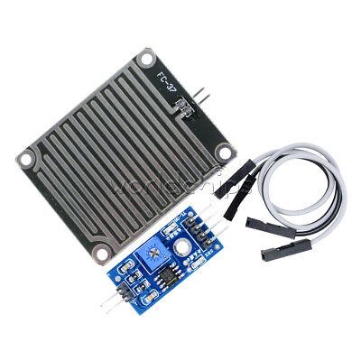 2pcs Rain Weather Module Raindrops Detection Sensor Moduel Humidity For Arduino