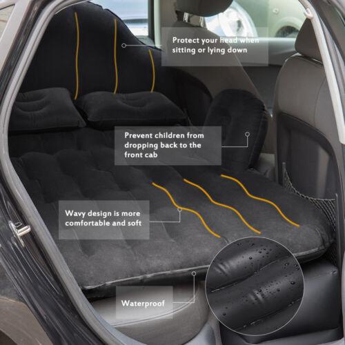 Car Air Bed Travel Inflatable Car Mattress Back Seat Cushion