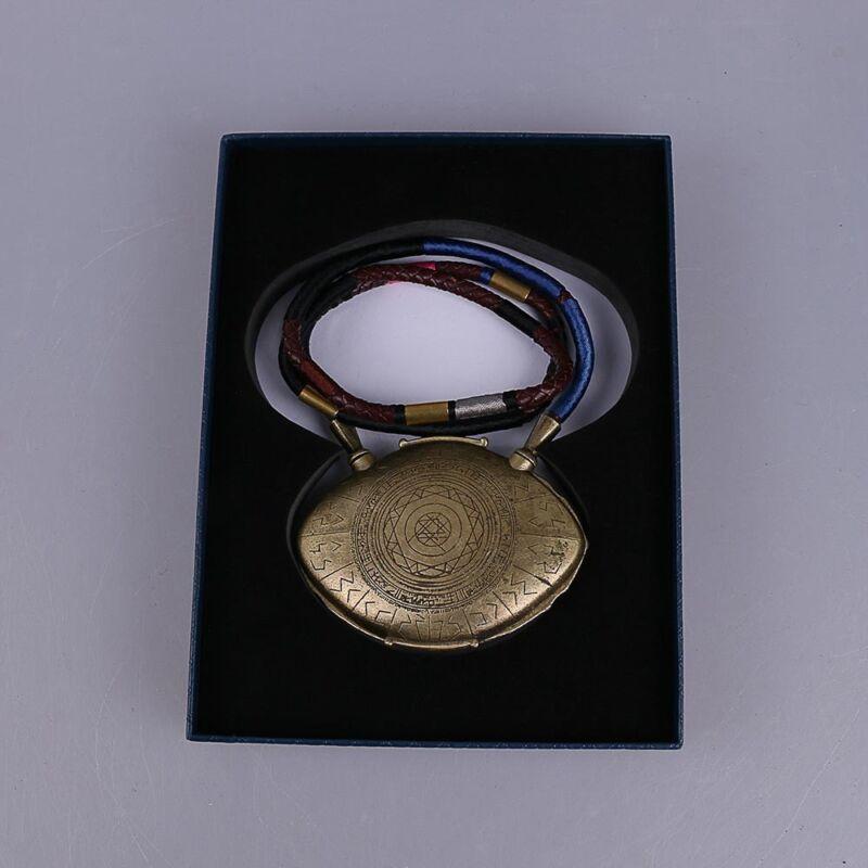 Cosplay Doctor Strange Pendant 1:1 Eye of Agamotto Necklace Handmade Props New