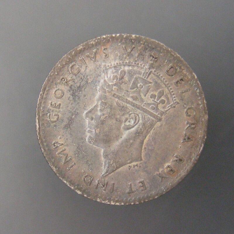 Newfoundland George VI 5c Five Cent Silver 1942-C