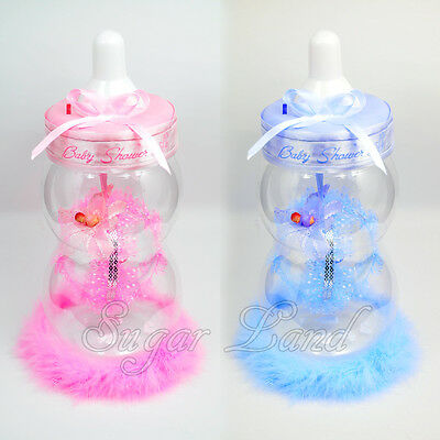 Baby Shower Table Centerpiece Jumbo Bottle Favors Boy Girl Gifts Decorations ](Baby Shower Girl Centerpieces)