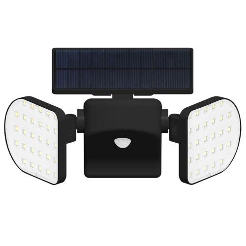 3,7 V wasserdichte Solar LED Wandleuchte Außen PIR Straßenlampe U9J7