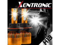 XENTRONIC LED Headlight kit 9007 HB5 White for 1998-2005 Mercury Grand Marquis