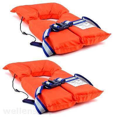2 x Schwimmwesten Rettungsweste Schwimmhilfe Unisex 55 - 100kg Setangebot