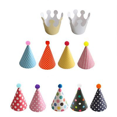 Cartoon High Quality Birthday Hat Crown Party Celebration Headdress Party Hats