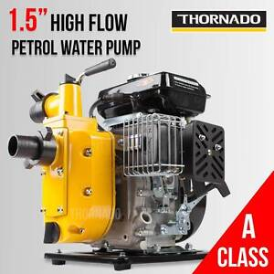 Thornado 1.5 Inch Petrol Water Pump 2.5HP Gold Prospecting Sydney Chipping Norton Liverpool Area Preview