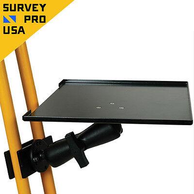 New Tripod Laptop Bracket For Instrument Total Station Scanner Laser Tripod