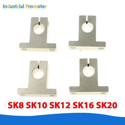 Sk8 Sk10 12 Sk16 Sk20 Linear Rod Rail Shaft Guide Support Cnc 3d Printer Reprap