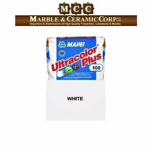 Mapei Ultracolor Plus 100 White Bag of 5 Kg Grout Fast Drying Banksmeadow Botany Bay Area Preview