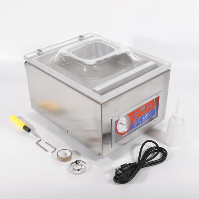 Commercial Vacuum Sealer Machine Sealing Packaging Packing Home Kitchen Food Hot