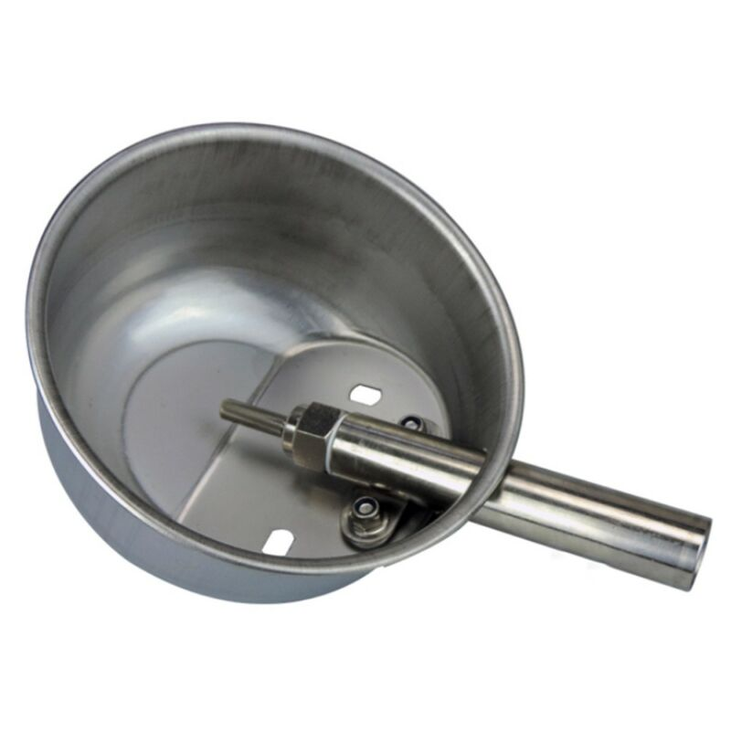 Stainless Steel Pig Drinker Waterer Water Bowl Automatic   Extra Large