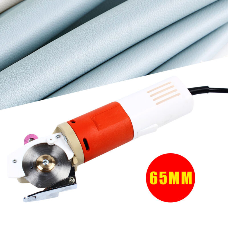 65mm Handheld Cloth Cutter Electric Fabric Cutting Machine For Clothing Shoes