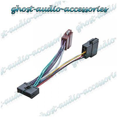 Sendai 12 Pin ISO Wiring Harness Adaptor Connector Lead Cable Wire Plug Loom