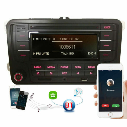 Autoradio VW RCN210 BLUETOOTH CD USB AUX für GOLF 5 6 PASSAT TOURAN POLO TIGUAN