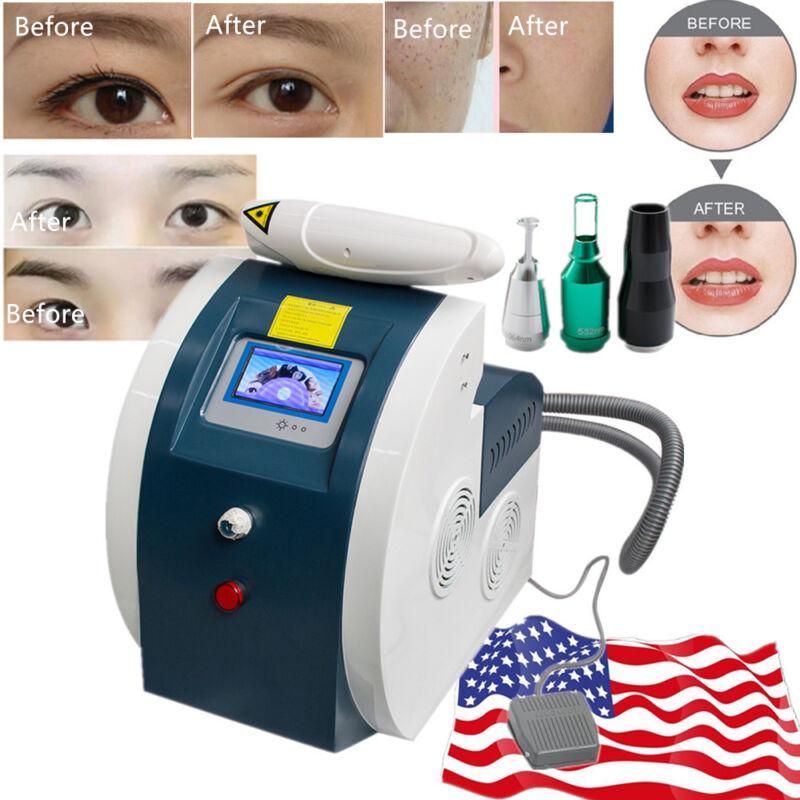 Commercial Q Switch Tattoo Removal Machine Laser Eyebrow Lipline Eyeline Remove