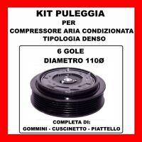 KIT PULEGGIA COMPRESSORE ARIA CONDIZIONATA MERCEDES CLASSE B 180 CDI MOT 640940