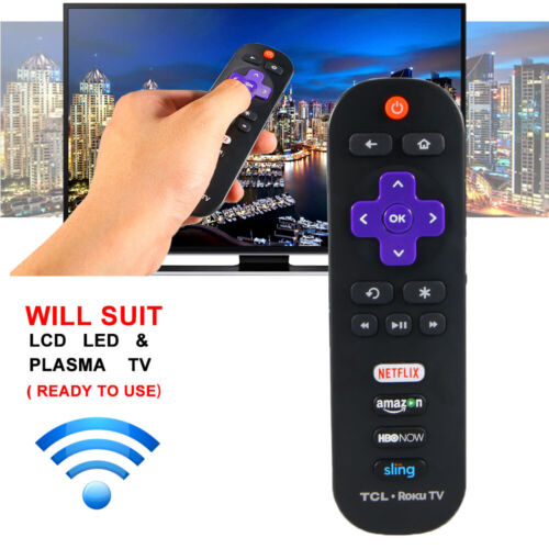 Original Remote Control TCL Roku Smart TV RC280 Netflix Sling Amazon 28S3750 US