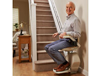 Acorn Stairlift, in good working order, delivered and fitted by Acorn. Fits straight staircase.