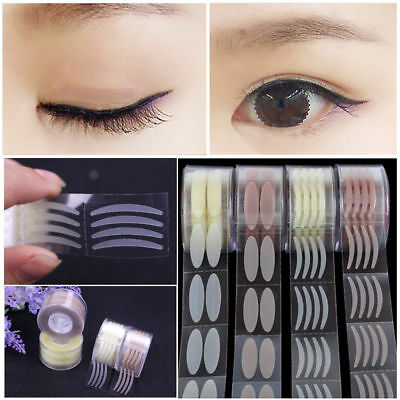 - 300Pairs Lace Eye Lift Strips Double Eyelid Tape Adhesive Stickers Roll Makeup